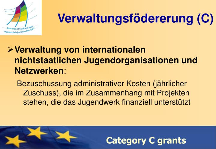 Verwaltungsfödererung (C)