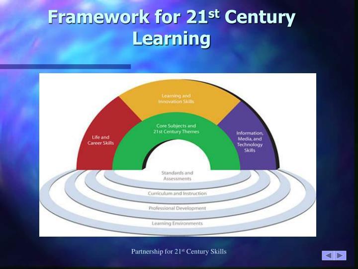 Framework for 21