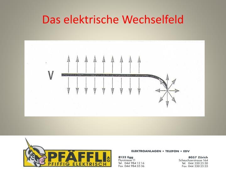 Das elektrische Wechselfeld