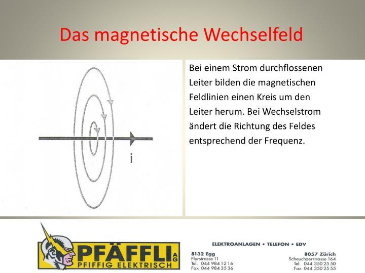 Das magnetische Wechselfeld