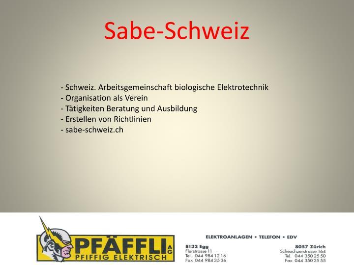Sabe-Schweiz