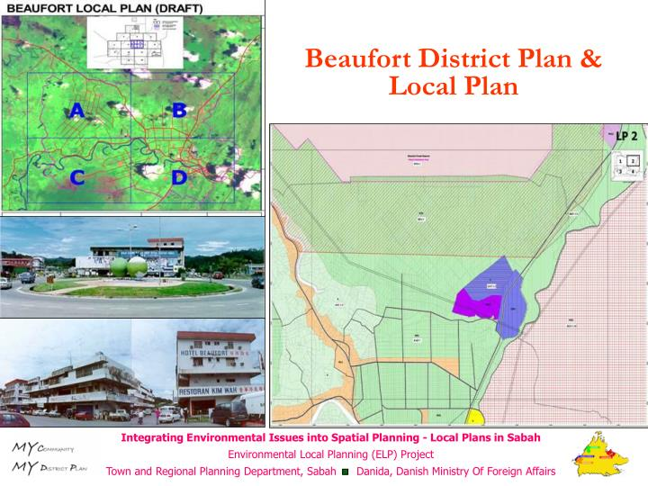 Beaufort District Plan & Local Plan