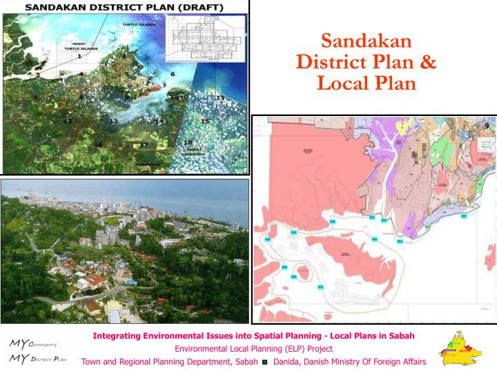 Sandakan District Plan & Local Plan