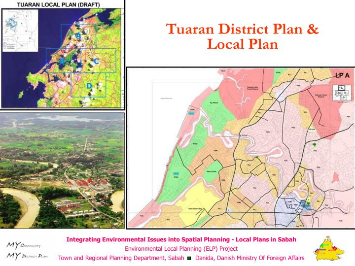 Tuaran District Plan & Local Plan