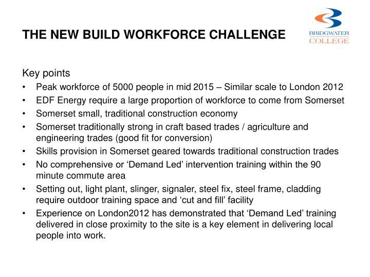 THE New Build Workforce Challenge