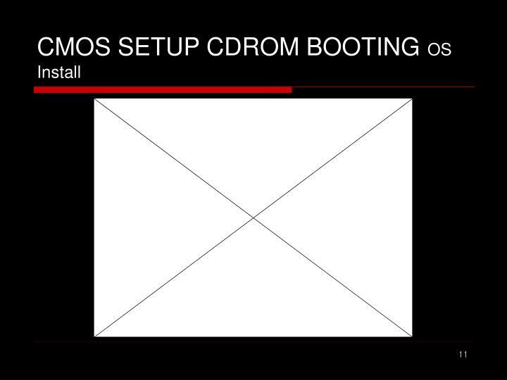 CMOS SETUP CDROM BOOTING