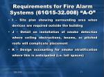 requirements for fire alarm systems 61g15 32 008 a o2