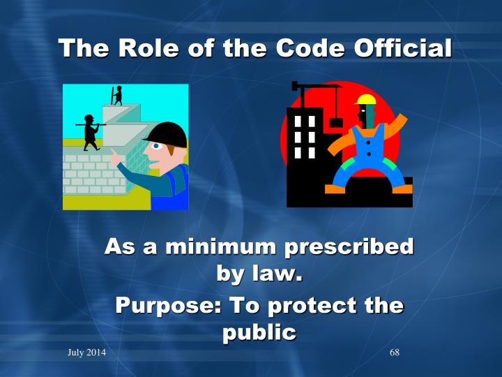 The Role of the Code Official