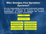 who designs fire sprinkler systems2