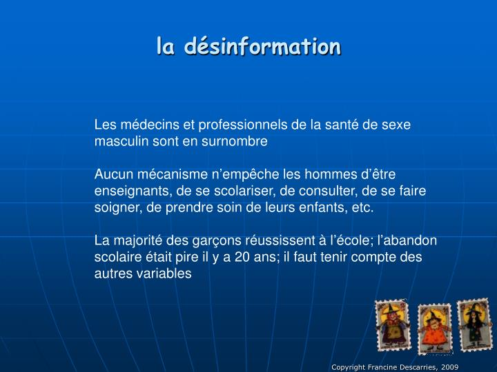 la dsinformation