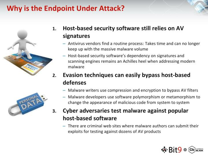 Why is the Endpoint Under Attack?