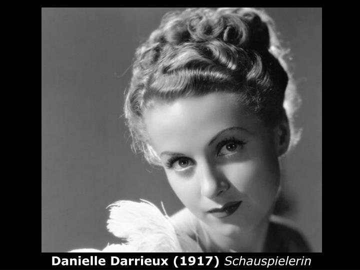 Danielle Darrieux (1917)