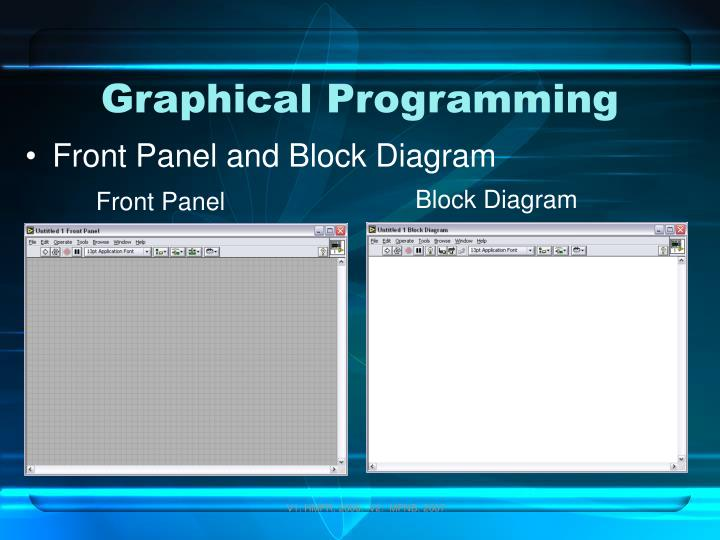 Graphical Programming
