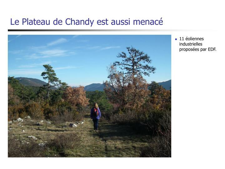 Le Plateau de Chandy est aussi menacé
