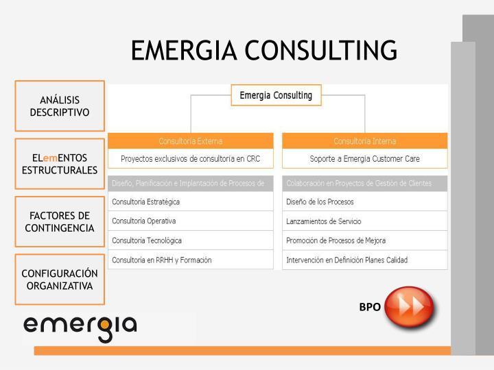EMERGIA CONSULTING