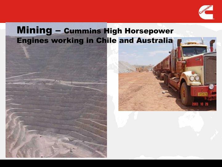 Mining –