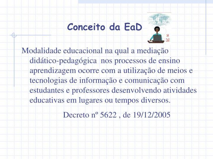 Conceito da EaD