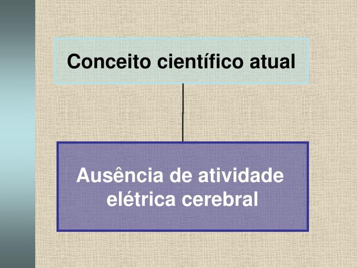 Conceito científico atual