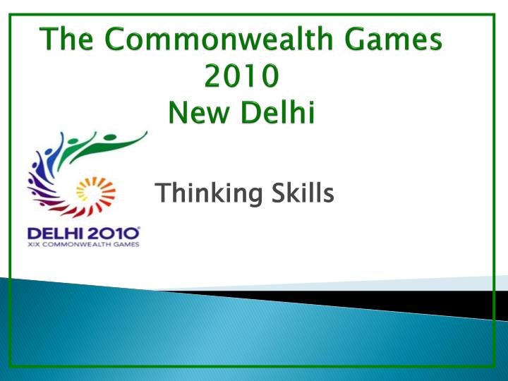 The commonwealth games 2010 new delhi