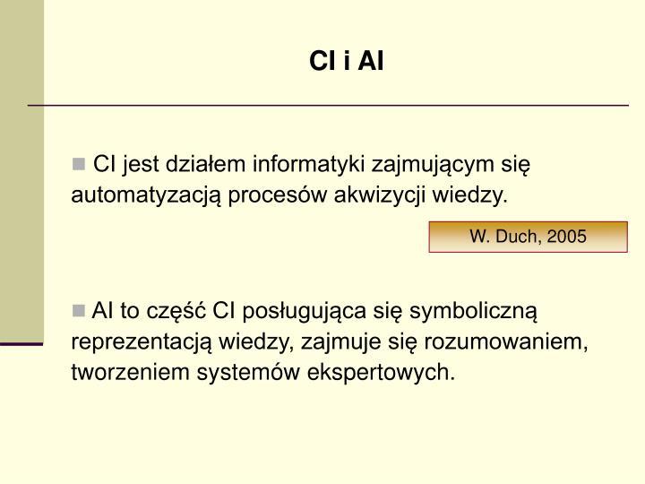 CI i AI