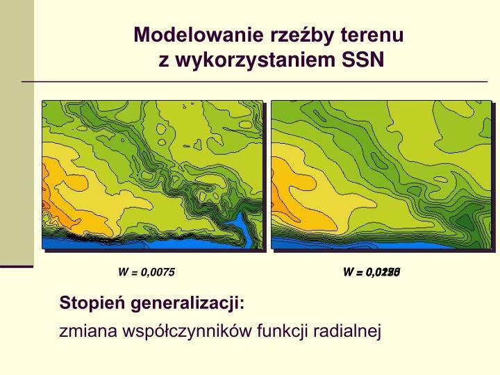 Modelowanie rzeźby terenu