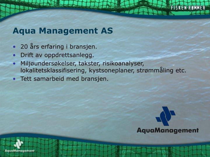 Aqua Management AS