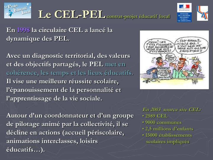 Le CEL-PEL