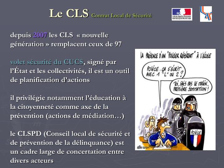 Le CLS