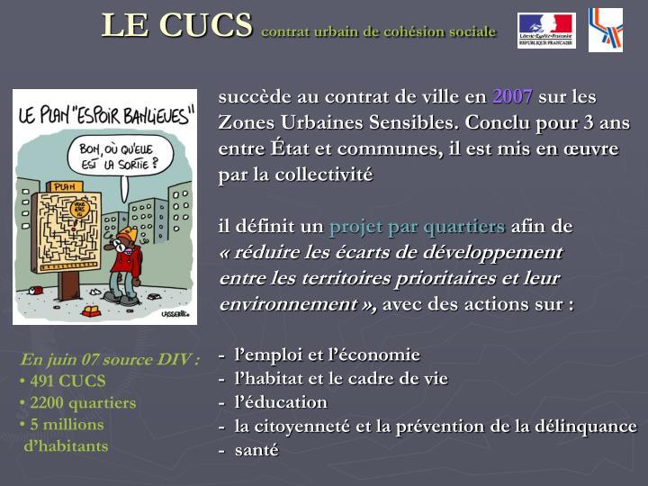 LE CUCS