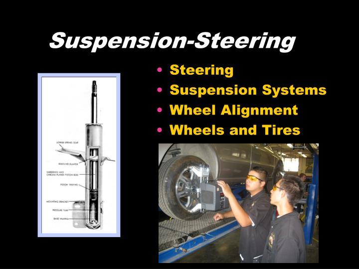 Suspension-Steering