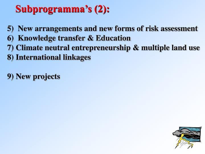 Subprogramma's (2):