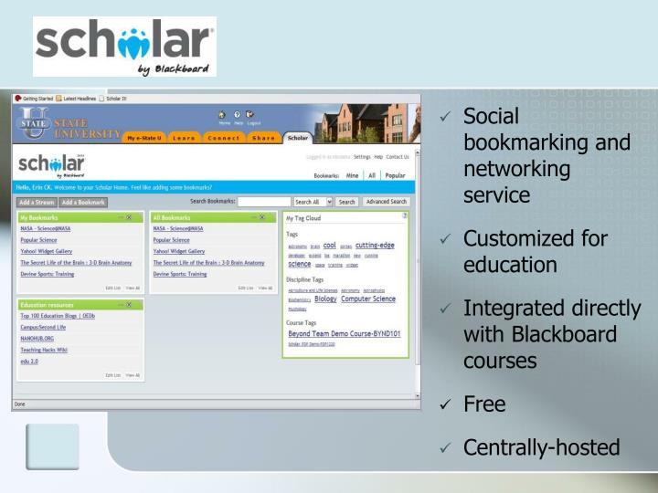 Social bookmarking and networking service