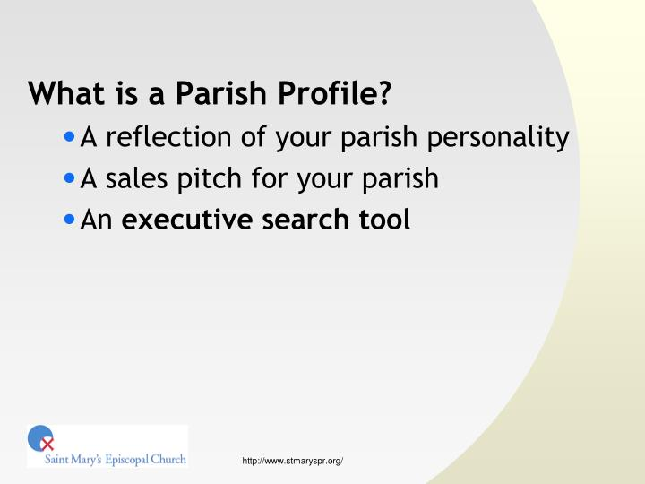 What is a Parish Profile?