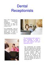 dental receptionists