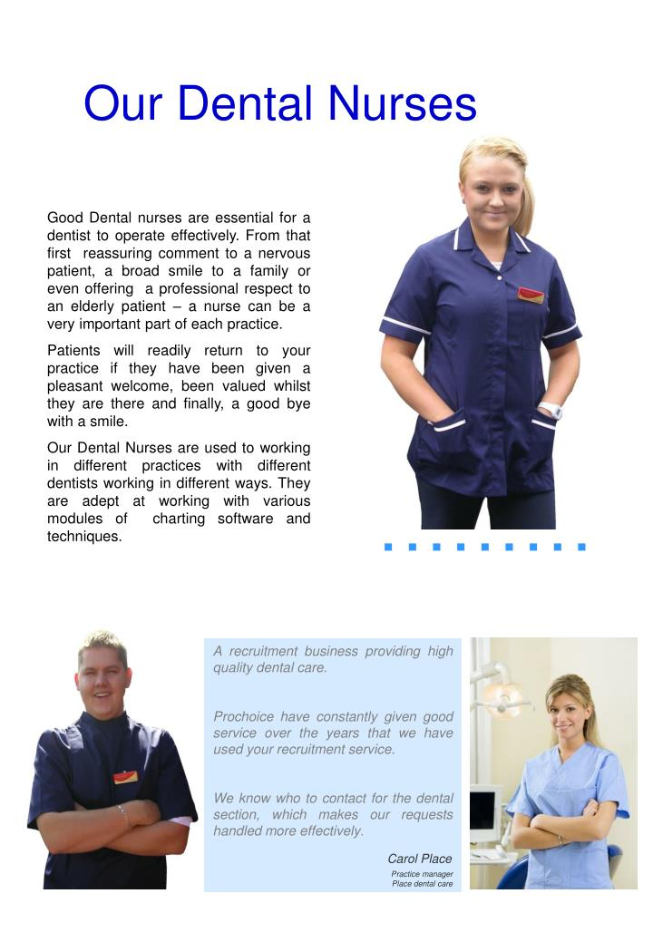 Our Dental Nurses