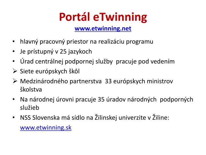 Portál eTwinning