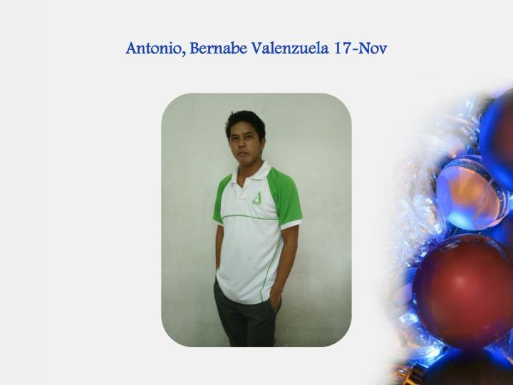 Antonio,