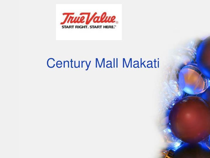 Century Mall Makati