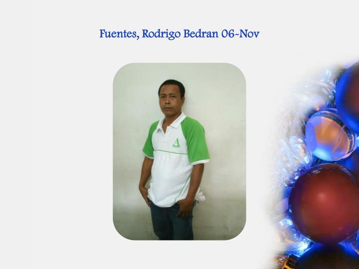 Fuentes, Rodrigo