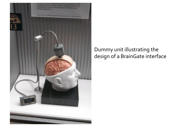 Dummy unit illustrating