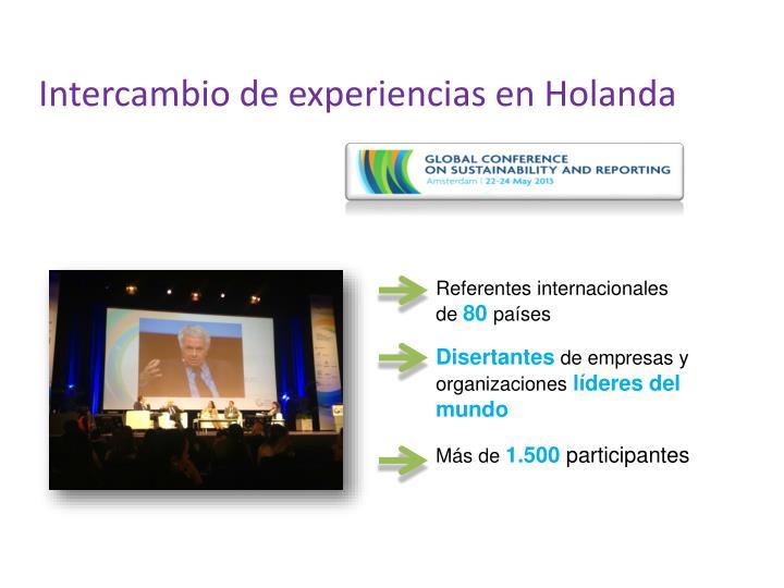 Intercambio de experiencias en Holanda