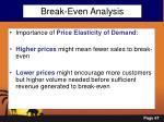 break even analysis3