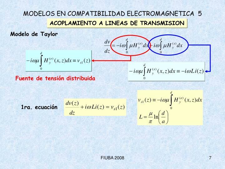 1ra. ecuación