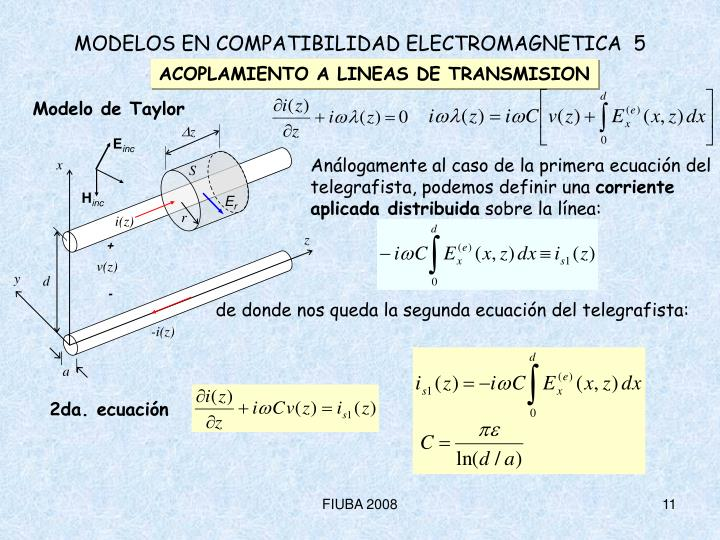 2da. ecuación