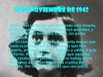 19 de noviembre de 1942