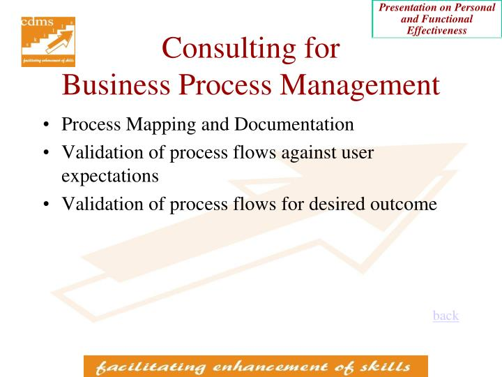 Consulting for