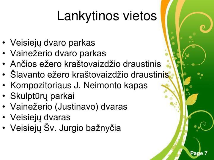 Lankytinos