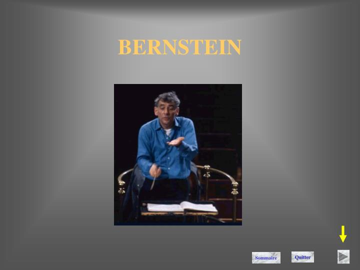 BERNSTEIN