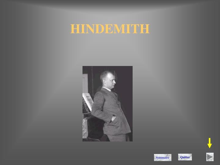 HINDEMITH