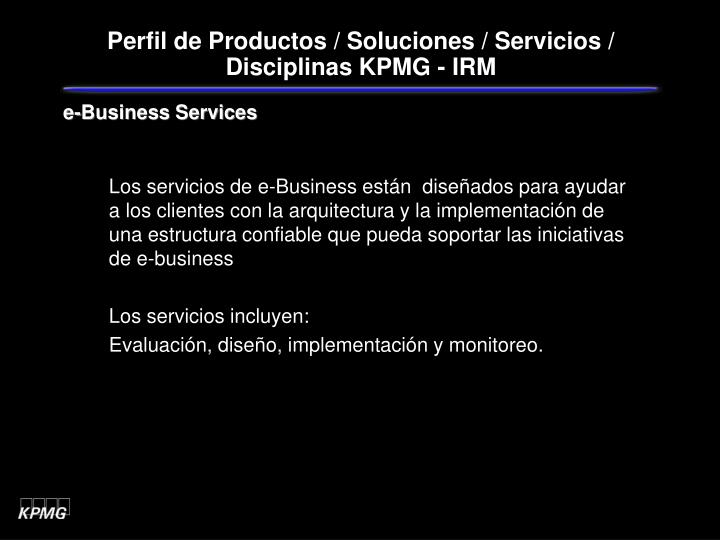 e-Business Services